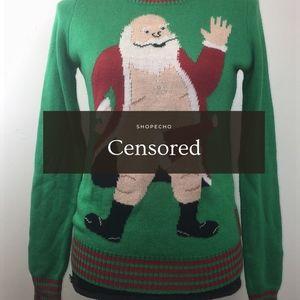 Tipsy Elves Naughty Santa Sweater Size S